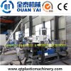 HDPE Flake Plastic Granule Recycle Machine