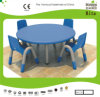 Kaiqi Children′s Tableand Chairs - Round Shape - Many Colours Available (KQ10183C)