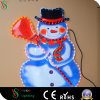 Santa Claus 2D Painting Light for Indoor christmas Decoration