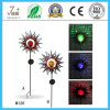 Charming Solar Iron Art and Crafts for Gardeon Decoration