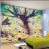 Personalized Wonderful High Definition Wallpaper Printing for Kids Room