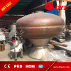 2500L Steam Heated Pot Still Distillation Unit Equipment for Brandy