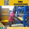 Africa Good Sell Qt4-24 Manual Concrete Block Making Machine in Uganda