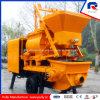 Pully Manufacture Horizontal 300m Delivery Distance Double Shaft Mixer Concrete Pump (JBT40-L)