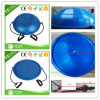 "No5-3 22"" 55cm Half Balance Trainer Ball, Bosu Ball with Resistance Bands & Pump"