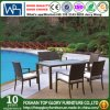 Outdoor Garden Corner Rattan Dining Set Furniture (TG-JW69)