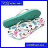 Fashion Beach Casual Flip Flops with Colorful Sole for Women