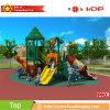 2017 New Product Outdoor Playground Plastic House Wood Series