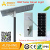 80W IP68 Waterproof Outdoor Integrated Solar LED Street Light