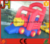 Mini Nylon Material Kids Inflatable Car Bouncer for Sale