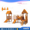 New Cheap Wooden Outdoor Playground