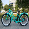 500W Green Power Chopper Fat Tire Electric Bike for Lady