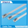 304 Steel Stainless Steel Cable Ties for Heavy Duty