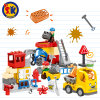 Plastic City Construction Truck Blocks Toy for Kids