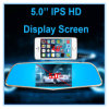 5 Inch FHD Rearview Mirror with Car DVR
