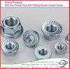 Flanged Hex Nut Metal Insert Lock Nut