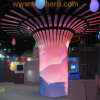 P10 Half-Round LED Display for Building