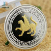 2017 New Design Silver with 24k Gold 3D Souvenir Coins