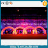 Custom Made Event, Wedding Decoration LED Lighting Inflatable Entrance / Entry Arch for Sale