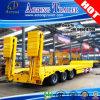 Good Quality Hydraulic Ladder Low Loader Semi Trailer