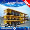 Flatbed 20FT 40FT 45FT 53FT Flatbed Container Semi Truck Trailer with Container Lock