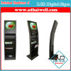 Newspaper Metal Magazine Display Stand with Sumsung LCD Advertising Screen
