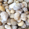 Pale-Yellow Pebble for Garden, Decoration (F08-yellow series)