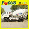 3cbm, 4cbm LHD or Rhd Small Concrete Mixer Truck/Self-Loading Concrete Truck Mixer-Cement Mixer