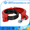 Ductile Iron FM UL Approved Grooved Fittings Flexible/Rigid Coupling