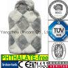 CE Plush Faux Fur Hot Water Bottle Cover Diamond