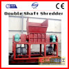 Tire Wood Plastic Rubber Shredding Double Shaft Shredder