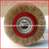 10 Inch Yellow Steel Wire Wheel Brush (YY-116)