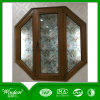 European Style Aluminum Wood Compand Window for Projects Using