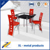 4 Seater Square Tempered Glass Bar Set/Bar Table