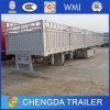 Bulk Goods Transport Cargo Stake Side Wall Fence Semi Trailer