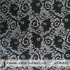 Black Net Lace Fabric for Sale (M4022)