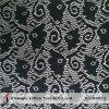 Black Net Lace Fabric for Sale (M4022)
