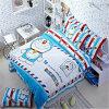 Children 100% Cartoon Character Duvet Cover Bedding Set (GT-09715)