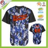 Sublimation 100% Mesh Polyester Camo Baseball Jersey Cheap Blank Baseball Jerseys