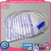 2000ml Plastic Urine Drainage Bag with Liquid Clamp