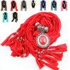 Popular Design Women Neck Scarf Cotton Pendant Scarves