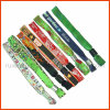 Customized Woven Fabric Wristband for Events (PBR005)