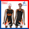 Healong Digital Print Latest Design Netball Dress