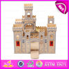 Wooden Children Castle Toy, Can Be Assembled by Kid (W06A035)