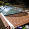 Wood Plastic Composite Flooring Nature Groove Decking Outdoor Garden Board