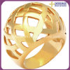 Fashion Stainless Steel Jewelry Gold Ring for Men