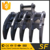 High Quality Crusher Bucket Excavator Root Rake Excavator Tilting Rake