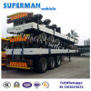 40FT 3 Axle Tractor Flatbed Container Semi Trailer