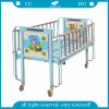 Cartoon Pediatrics Bed Flat with Siderails (AG-CB003)
