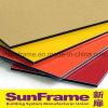 Aluminium Colored Composite Panel for Exterior Area